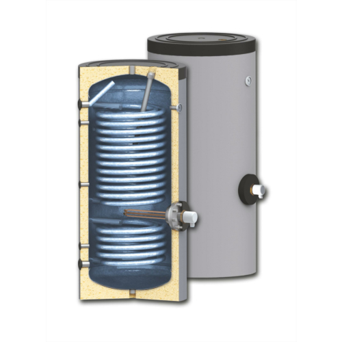 Boiler soojusvahetiga 300 300 l / 1,2+2,7m²