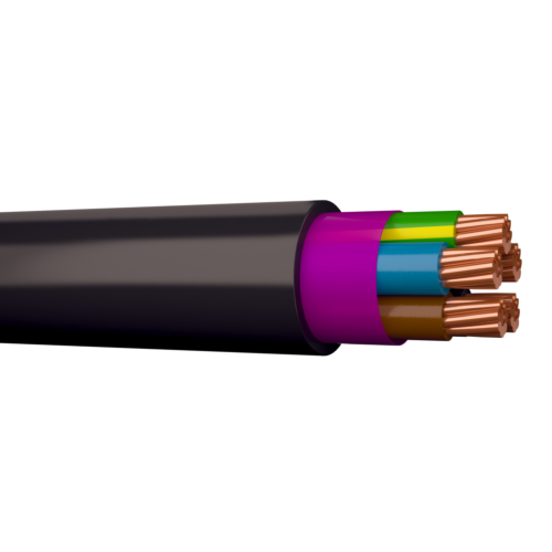 Kaabel XPK 5G16 1kV must jõukaabel trumlil