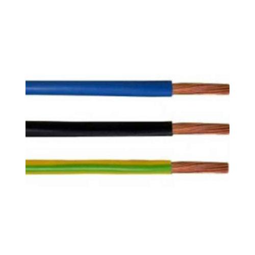 Montaazijuhe peenkiud MKEM90 H07V2-K 6mm2 Eca must 100m rullis, A-Collection