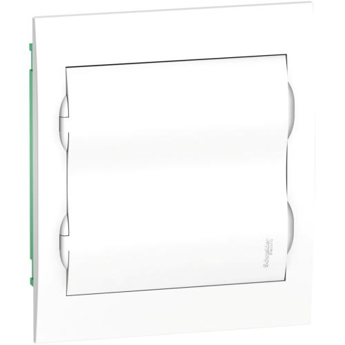 Jaotuskilp süv. 24mod. uks valge IP40 plast
