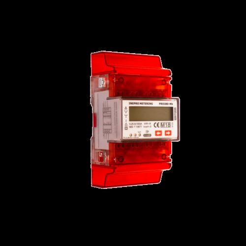 Elektriarvesti Pro380-MBus, 3 faasiline, 2 tariifne, M-Bus väljund, MID sert, DIN-liistule, 5-100A