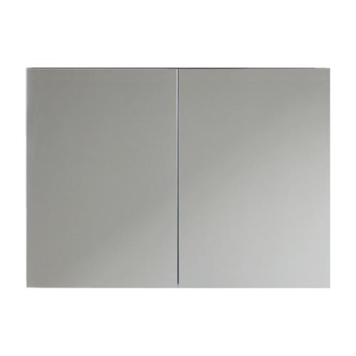Peeglikapp Forma 80 valge kõrgläige PVC070