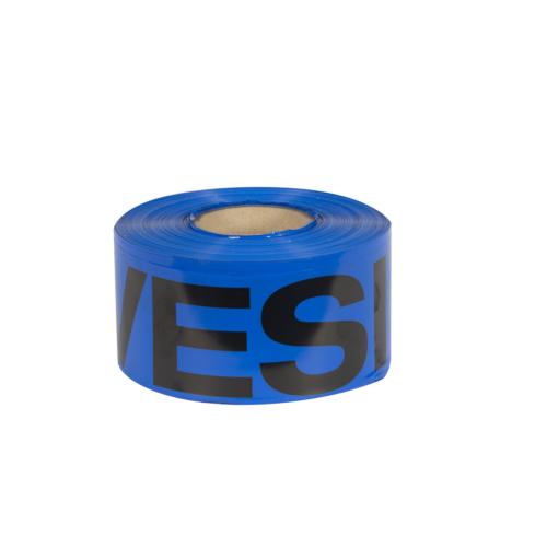 Hoiatuslint sinine VESI 100mm, 250m/rull