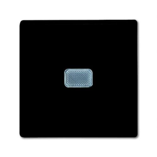 Lihtlüliti(1), märgutulega, chateau-black, ABB Basic55