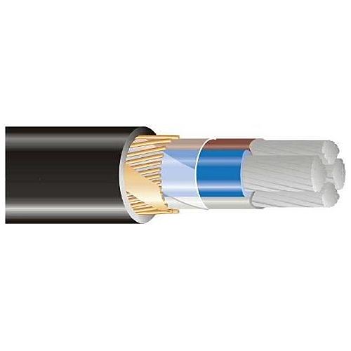 Jõukaabel AXCMK-HF 4x50/15, Cca, must, Telefonika