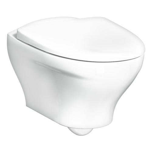 Seina WC Estetic rimless valge SC prill-lauaga