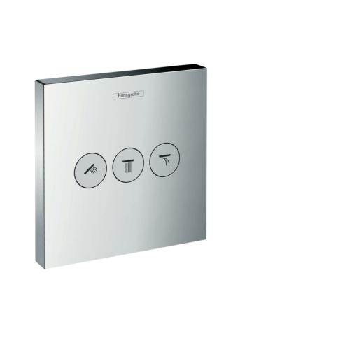 Diverter ShowerSelect 3-väljundit, kroom