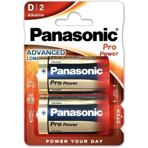 Patarei D, 2tk, Panasonic PRO