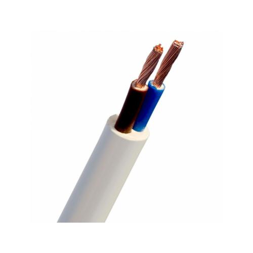 Kiuline kaabel H05VV-F 2x1,5, Eca, valge, 100m rullis, Telefonika