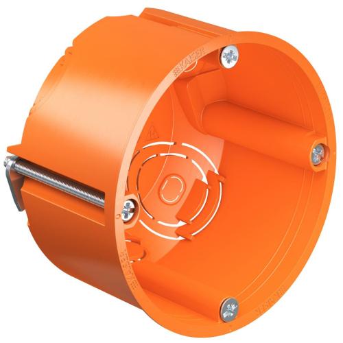 Seadmetoos Ø68mm H=47mm kipsseinale oranž, Kaiser