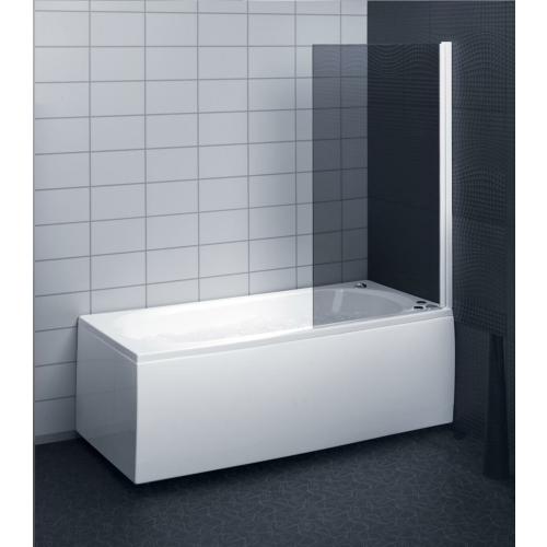 Dušisein sirgjoonelisele vannile, kirgas klaas