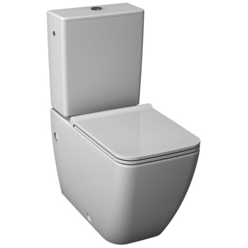 WC alus Pure universaal vastu seina, valge