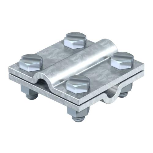 Ristühendusklemm ümarjuhile 8-10mm, St, FT, OBO
