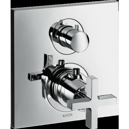 Termostaadiga dušisegisti AX Citterio paneel