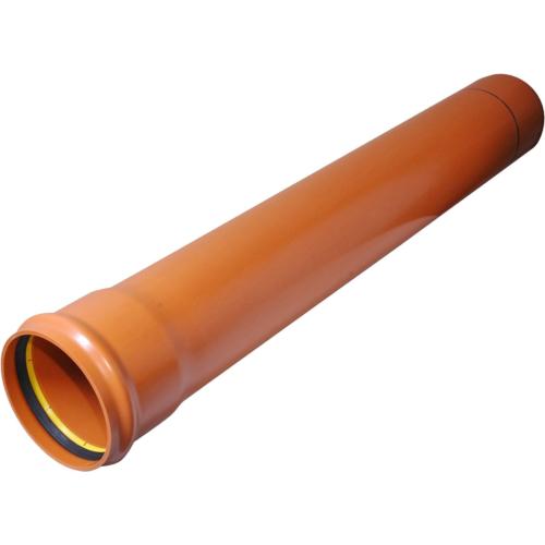 PVC muhvtoru 110x3,2-2m Compact SN8 EN1401 Pipelife