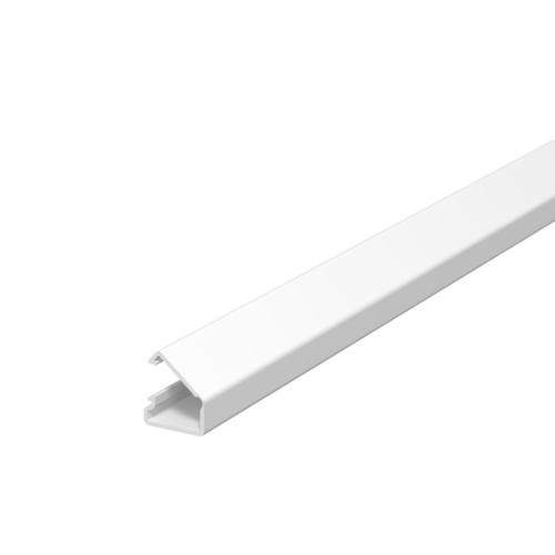 Karbik kleebitav, 7x12,5mm L=2000mm PVC polaarvalge, OBO