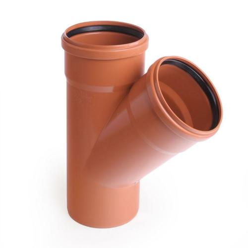 PVC NAL kolmik 200/160-45° Pipelife