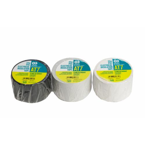 Elektri isol.teip25mmx33m helehall PVC AT-7 109340