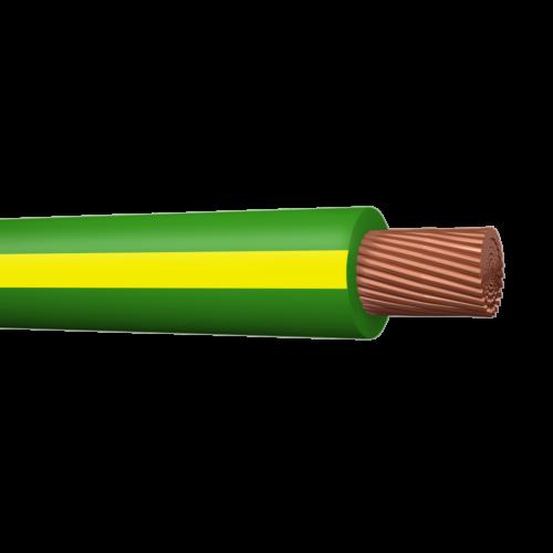 Halogeenivaba montaazijuhe peenkiud MKEM-HF C-Pro 16mm2 Cca kolla-roheline 100m rullis, Draka