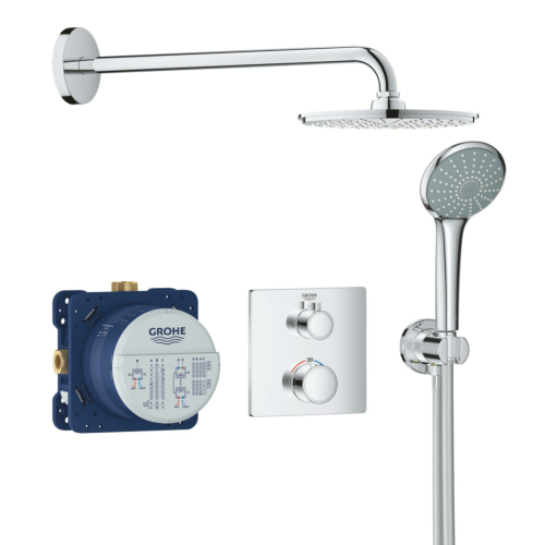 Dušisegisti Rainshower komplekt 210mm SmartBox
