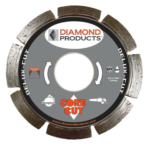 Teemantketas 125x2,0x22,2 DeluxCut, Universaal