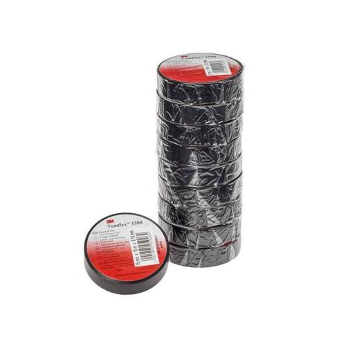 Isolatsiooniteip 15mmx10m must PVC 3M