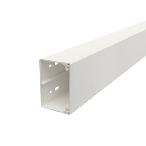 Karbik kaanega 60x90mm L=2000mm PVC polaarvalge, OBO