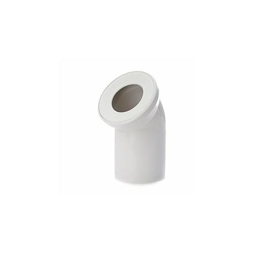 WC ühenduspõlv DN100-45°