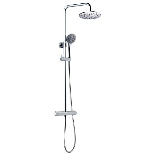 Termostaadiga dušisegisti 200mm ümar, A-collection