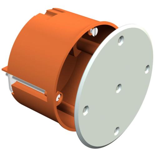 Seadmetoos Ø74 H=50mm kipsseinale, oranž, valge kaas komplektis, OBO