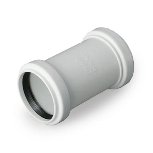PP-HT Kaksikmuhv 50 S14 valge Pipelife