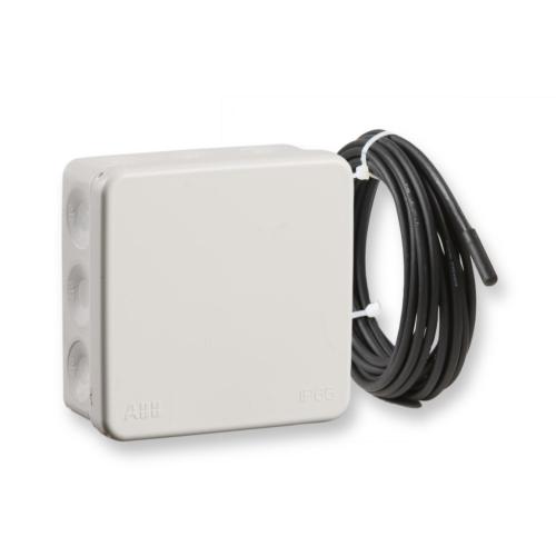 Jäätumiskaitse termostaat ECO500, 16A, +2...35C IP55, 4m andur, veetorustikele, Ensto